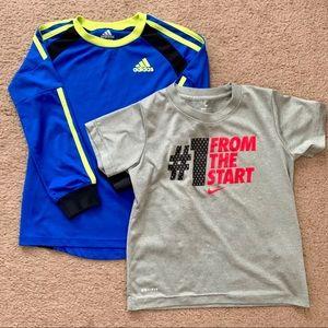 Nike & Adidas Boys T-Shirt Bundle